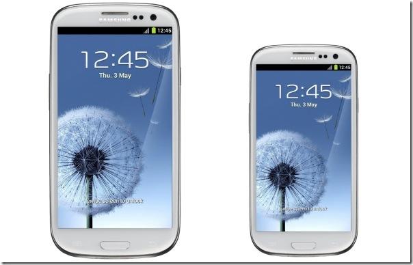 Samsung confirma versão menor do Galaxy S III, Samsung, Smartphones, Lançamento, Android