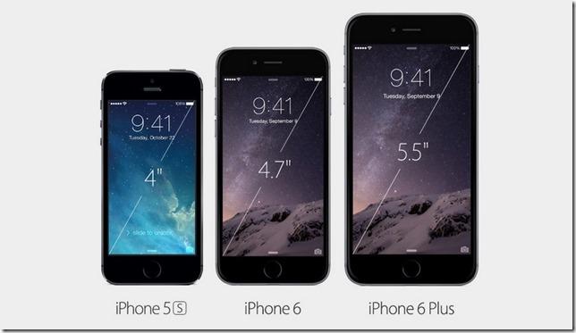 Qual é a diferença entre o iPhone 6 e o iPhone 6 Plus?, Apple, iPhone, smartphones, com parativo