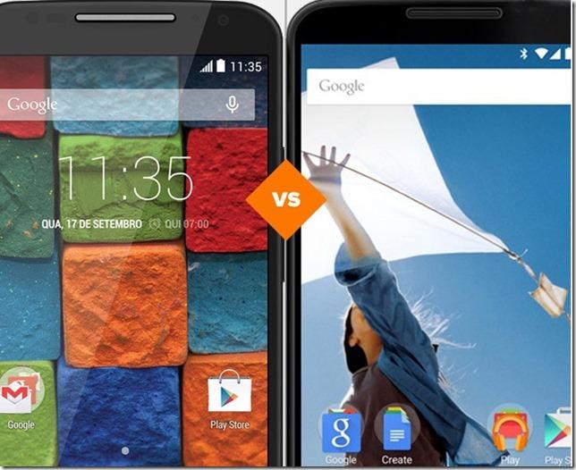 Novo Moto X ou Nexus 6? Confira o comparativo!, Motorola, android, google, smartphones, comparativo